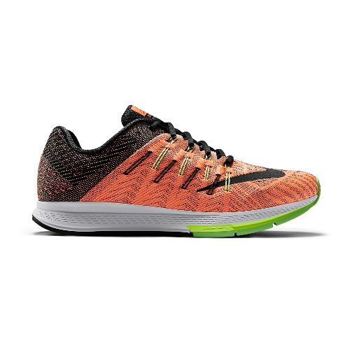 Mens Nike Air Zoom Elite 8 Running Shoe - Black/Yellow 10