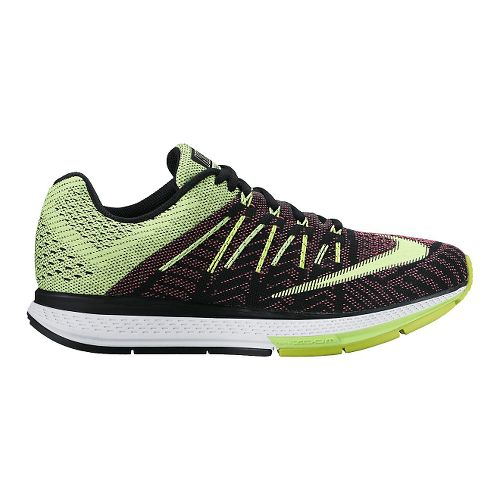 Womens Nike Air Zoom Elite 8 Running Shoe - Volt/Pink 10.5