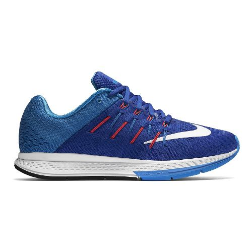 Womens Nike Air Zoom Elite 8 Running Shoe - Blue/Orange 10.5