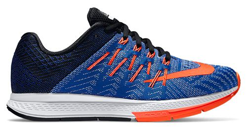 Womens Nike Air Zoom Elite 8 Running Shoe - Blue/Orange 6