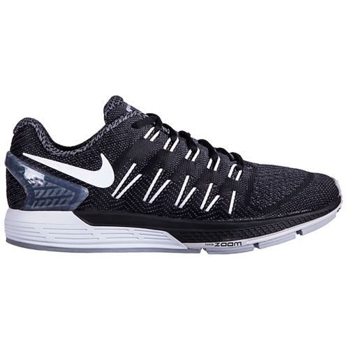 Mens Nike Air Zoom Odyssey Running Shoe - Black/Grey 9.5