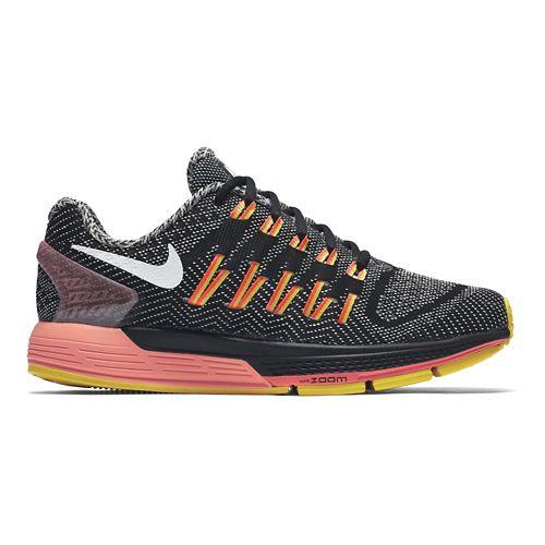 Womens Nike Air Zoom Odyssey Running Shoe - Black/Orange 10