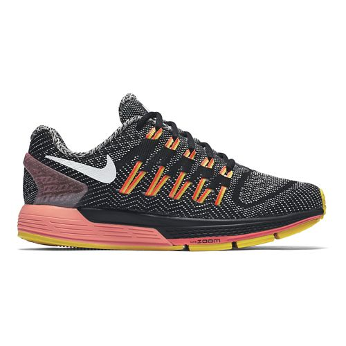 Womens Nike Air Zoom Odyssey Running Shoe - Black/Orange 9.5