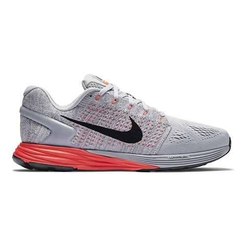 Mens Nike LunarGlide 7 Running Shoe - Grey 9