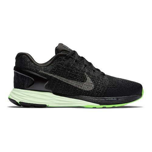 Womens Nike LunarGlide 7 Running Shoe - Black 11