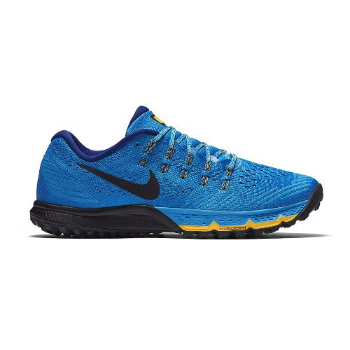 Mens Nike Air Zoom Terra Kiger 3 Trail Running Shoe - Blue 8.5