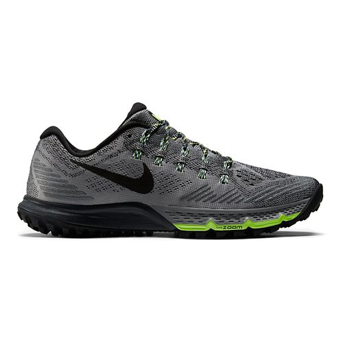 Womens Nike Air Zoom Terra Kiger 3 Trail Running Shoe - Grey/Black 8