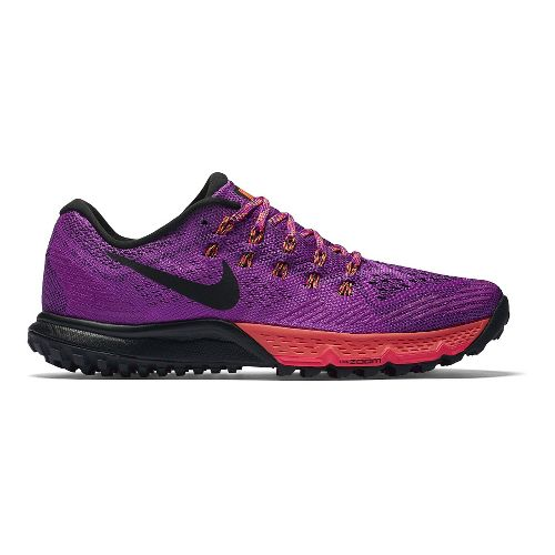 Womens Nike Air Zoom Terra Kiger 3 Trail Running Shoe - Hyper Violet 6