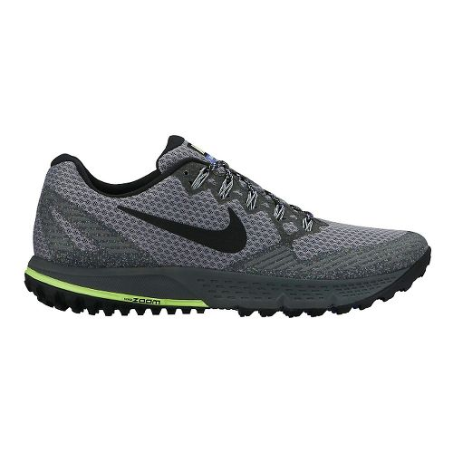 Mens Nike Air Zoom Wildhorse 3 Trail Running Shoe - Grey/Black 11