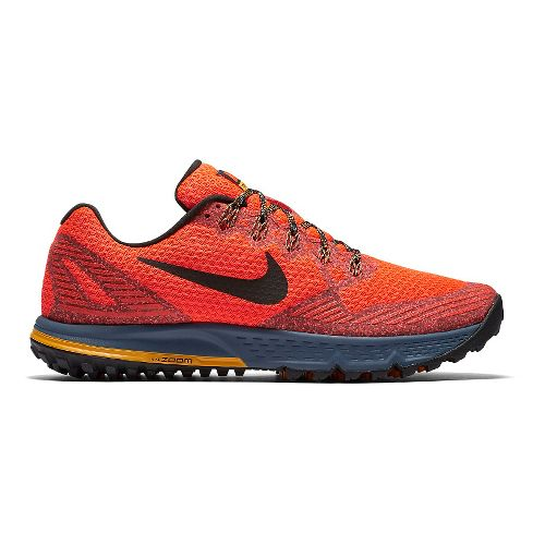 Mens Nike Air Zoom Wildhorse 3 Trail Running Shoe - Grey/Black 9