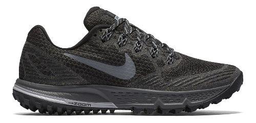 Womens Nike Air Zoom Wildhorse 3 Trail Running Shoe - Black/Grey 6