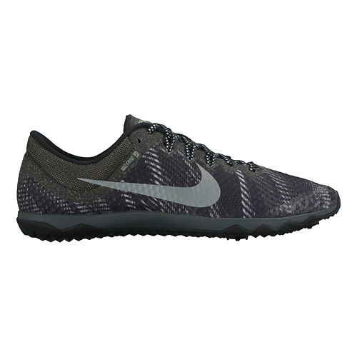 Mens Nike Zoom Rival Waffle Cross Country Shoe - Black/Grey 7.5