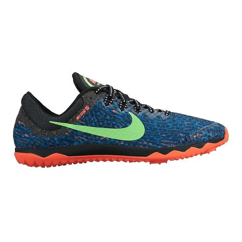 Womens Nike Zoom Rival Waffle Cross Country Shoe - Blue 10.5