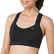 Womens Brooks UpLift Crossback Sports Bra - Black L