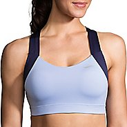 Womens Brooks UpLift Crossback Sports Bra - Seaglass/Navy XS