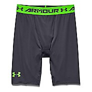 Mens Under Armour HeatGear Compression Short Long Boxer Brief Underwear Bottoms