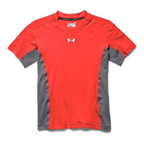 Mens Under Armour HeatGear Stretch Compression T Short Sleeve Technical Tops - Bolt ...