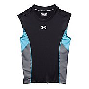 Mens Under Armour HeatGear Stretch Compression T Sleeveless Technical Tops