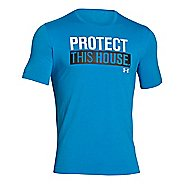 Mens Under Armour Charged Cotton Sportstyle 1 T Short Sleeve Technical Tops