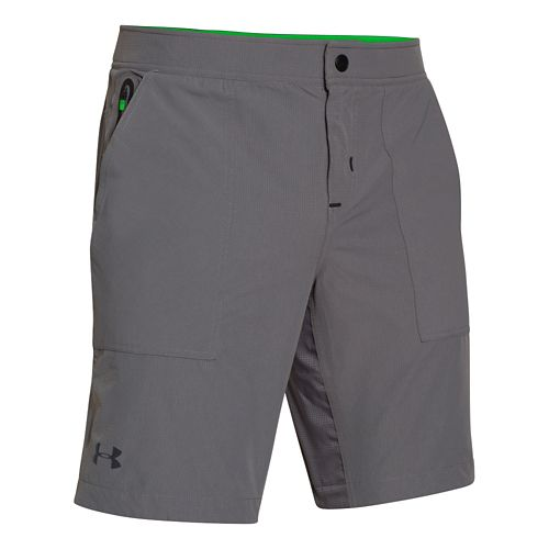 Mens Under Armour Ultimate Utility Unlined Shorts - Graphite L