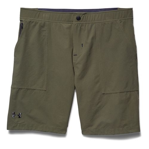Mens Under Armour Ultimate Utility Unlined Shorts - Marine OD Green S