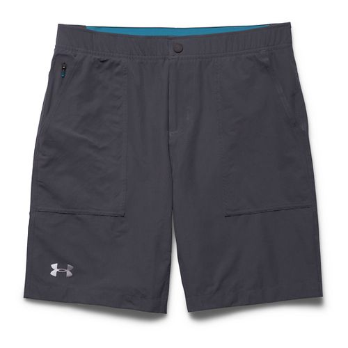 Mens Under Armour Ultimate Utility Unlined Shorts - Marine OD Green M