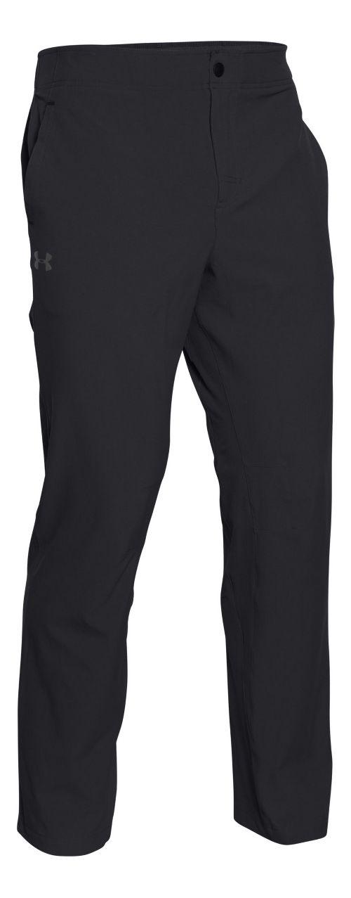 Mens Under Armour Prospect Woven Pants - Black L-R