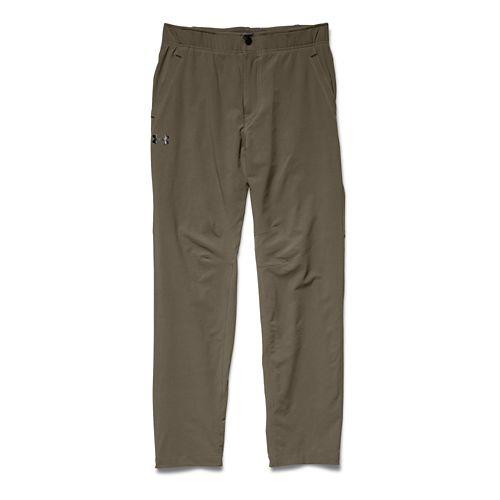 Mens Under Armour Prospect Woven Full Length Pants - Marine OD Green XL-R