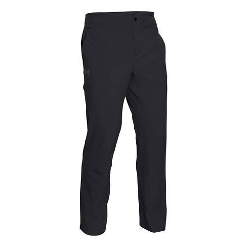 Mens Under Armour Prospect Woven Full Length Pants - Marine OD Green S-R
