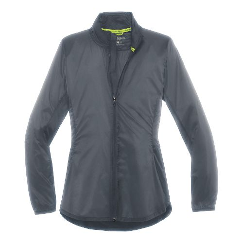 Womens Brooks LSD Lightweight Jackets - Asphalt XS