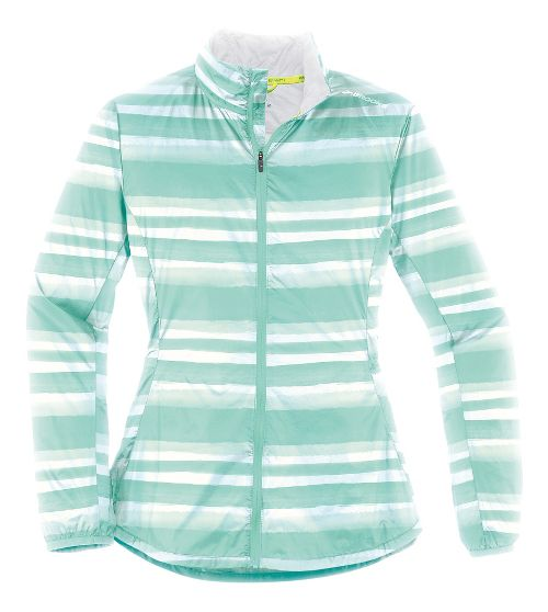 Womens Brooks LSD Lightweight Jackets - Surf Scape XS