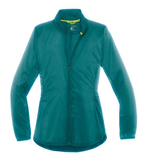Womens Brooks LSD Lightweight Jackets - Kale M