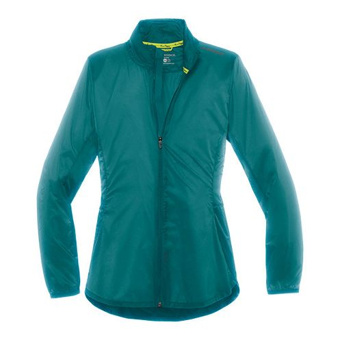 Womens Brooks LSD Lightweight Jackets - Kale XL