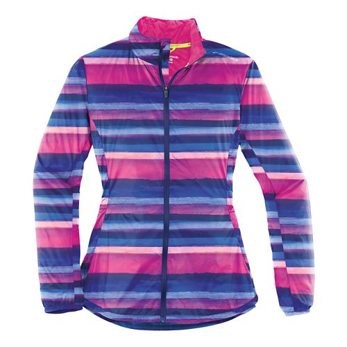 Womens Brooks LSD Lightweight Jackets - Navy Scape L