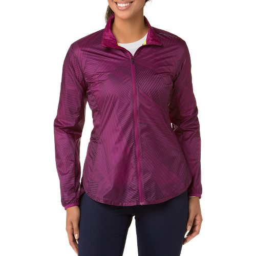 Womens Brooks LSD Lightweight Jackets - Currant S