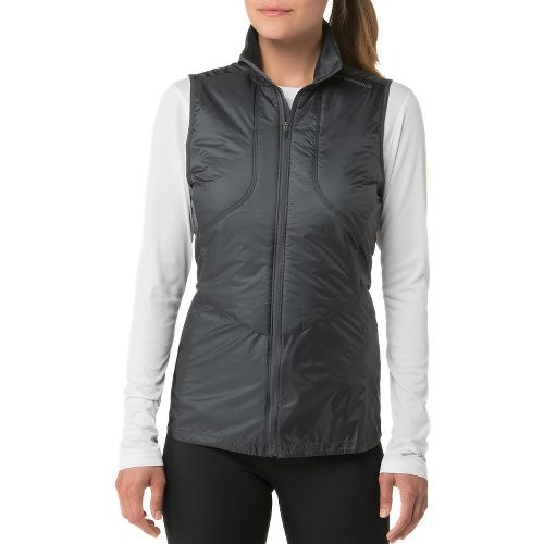 Womens Brooks LSD Thermal Running Vests - Asphalt XL