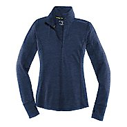 Womens Brooks Dash Long Sleeve Half Zip Technical Tops