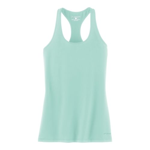Womens Brooks Go-To Tanks Technical Tops - Surf L