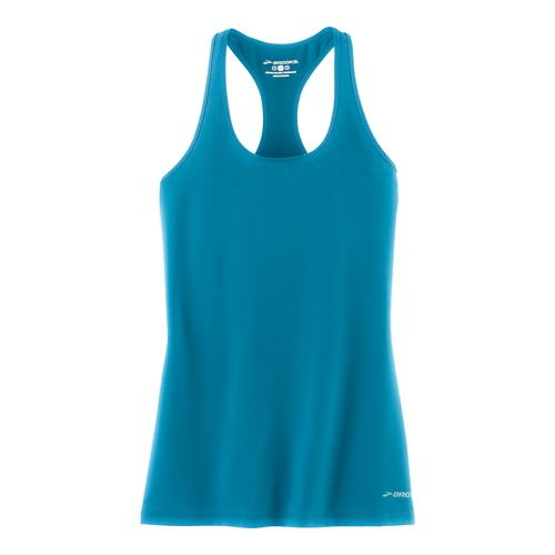 Womens Brooks Go-To Tanks Technical Tops - River L