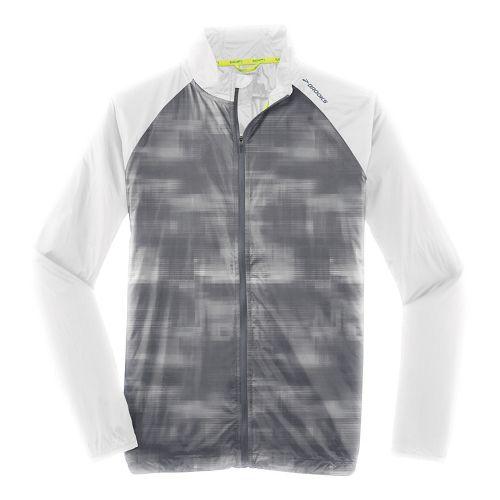 Mens Brooks LSD Outerwear Jackets - Asphalt Haze XL
