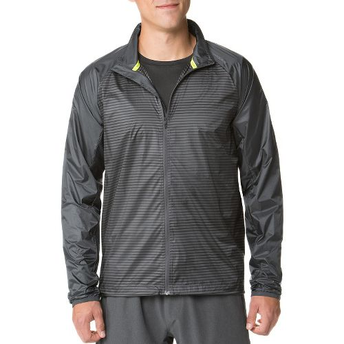 Mens Brooks LSD Outerwear Jackets - Asphalt M