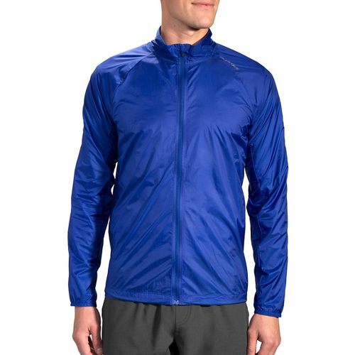 Mens Brooks LSD Outerwear Jackets - Basin L