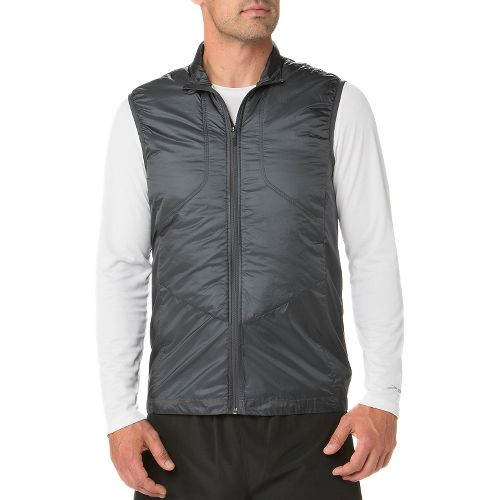 Mens Brooks LSD Thermal Running Vests - Asphalt M