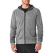 Mens Brooks Joyride Hoodie Warm-Up Unhooded Jackets