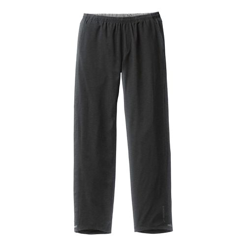 Mens Brooks Rush Full Length Pants - Heather/Black L