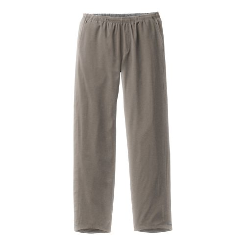 Mens Brooks Rush Full Length Pants - Carb/Heather S