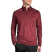 Mens Brooks Dash Long Sleeve Half Zip & Hoodies Technical Tops