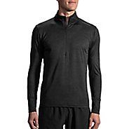 Mens Brooks Dash Long Sleeve Half Zip Technical Tops