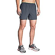 "Mens Brooks Sherpa 5"" Lined Shorts"