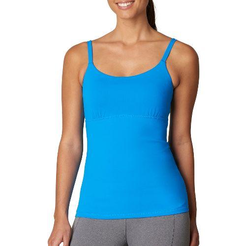 Womens Prana Nixie Top Sleeveless & Tank Technical Tops - Blue XS